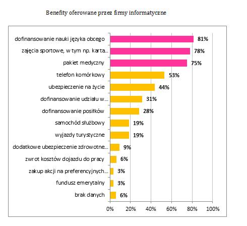 Dodatkowe elementy kształtujące środowisko pracy w branży IT